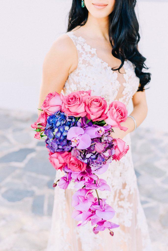 Ιδέες για γάμο μπουκέτο νύφης sland Club φωτογράφηση γάμου