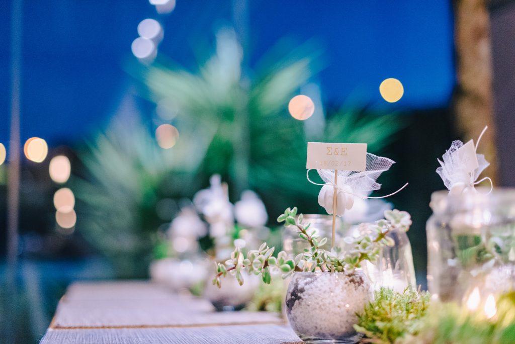 Starry Night Romantic Wedding Stationery Invitation Athens