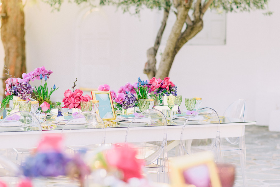 bridal table wedding athens beach riviera