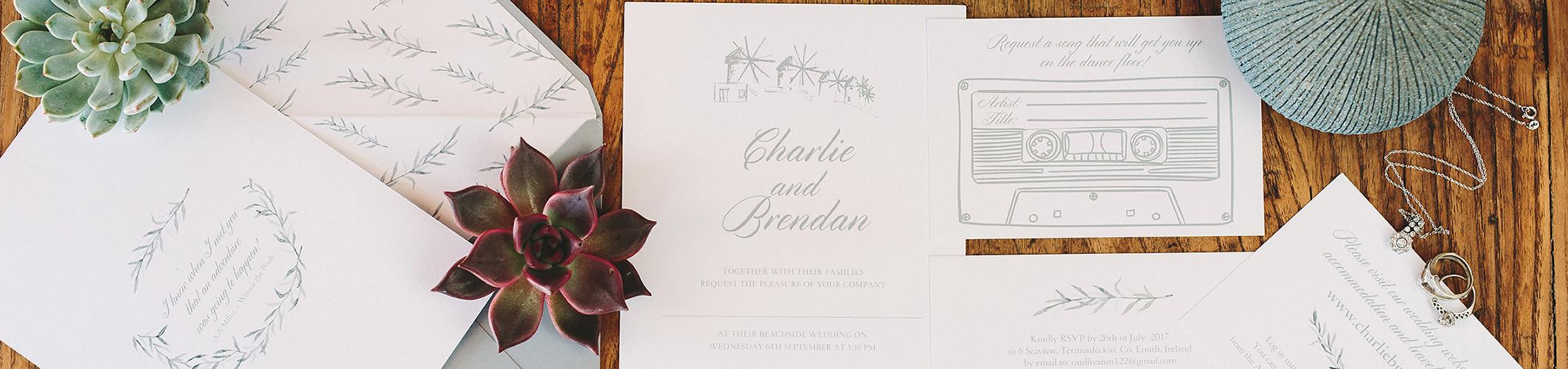 Ιδιαίτερο προσκλητηριο γάμου