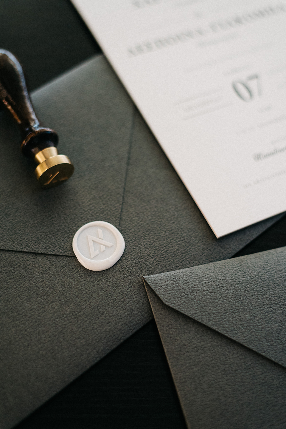Minimal invitations wedding invitations