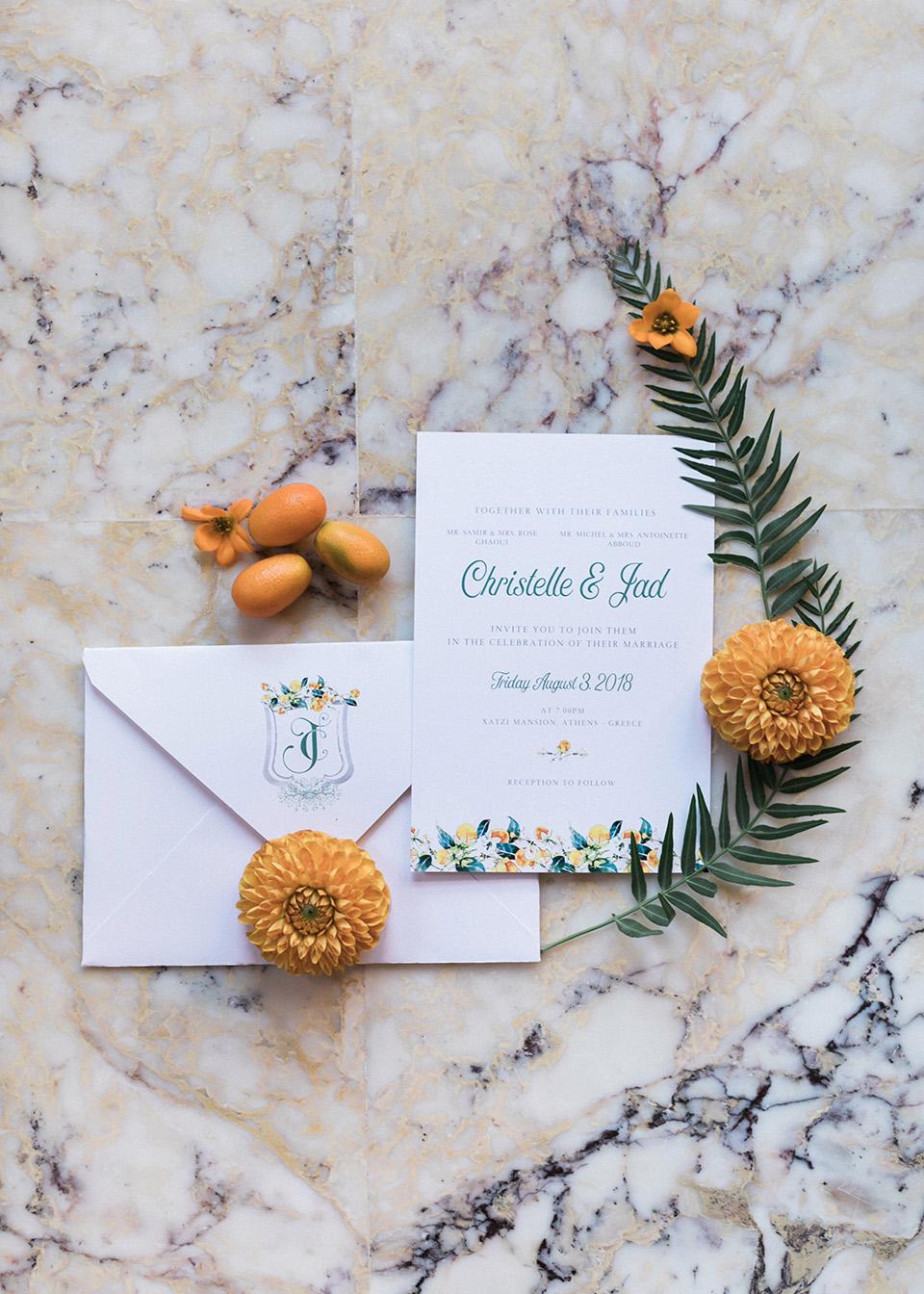 boho προσκλητήριο γάμου